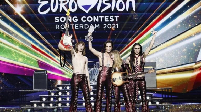 Damiano David Ιταλία Eurovision 2021