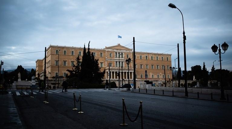 Αθήνα - άδειοι δρόμοι