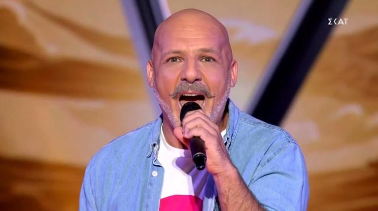Νίκος Μουτσινάς The Voice