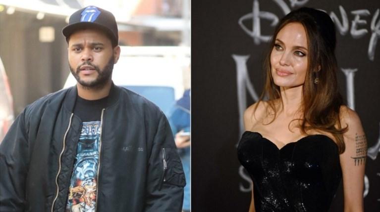 Angelina Jolie – The Weeknd