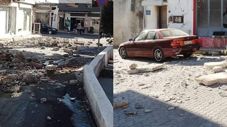 Ισχυρός σεισμός 5,8 Ρίχτερ στο Ηράκλειο