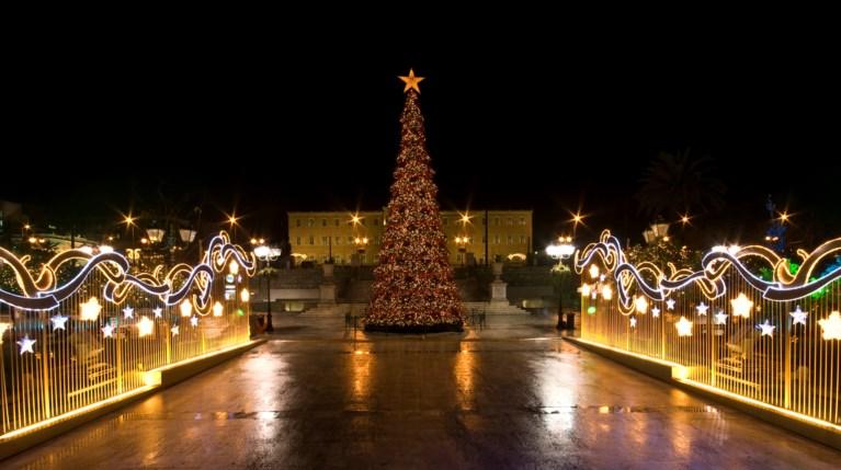 Χριστούγεννα Αθήνα