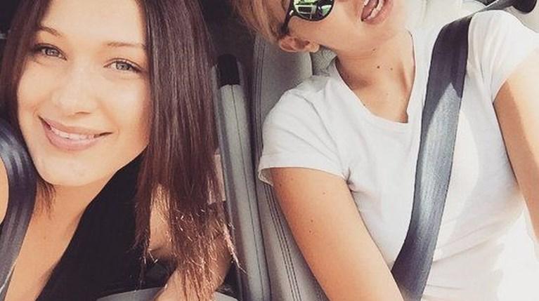Bella and Gigi Hadid