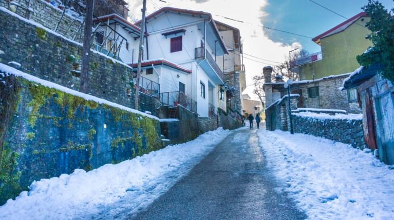 χιόνια Καρπενήσι