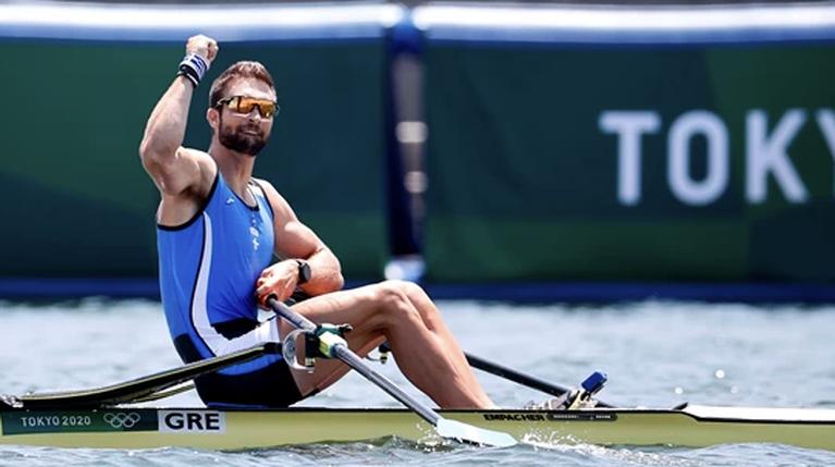 Ολυμπιακοί Αγώνες - Στέφανος Ντούσκος