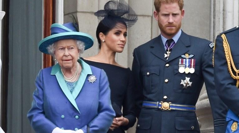 Πρίγκιπας Χάρι & Μέγκαν Μαρκλ - Βασίλισσα Ελισάβετ