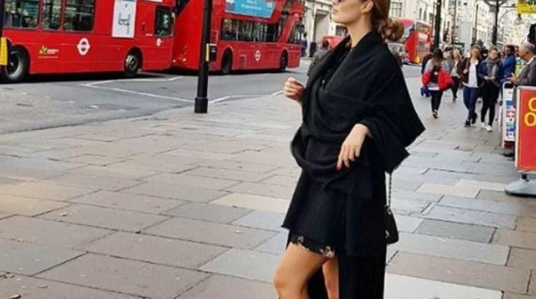 Αντωνία Καλλιμούκου στο Λονδίνο