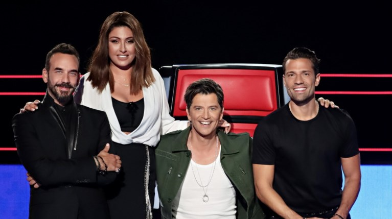 The Voice κριτές