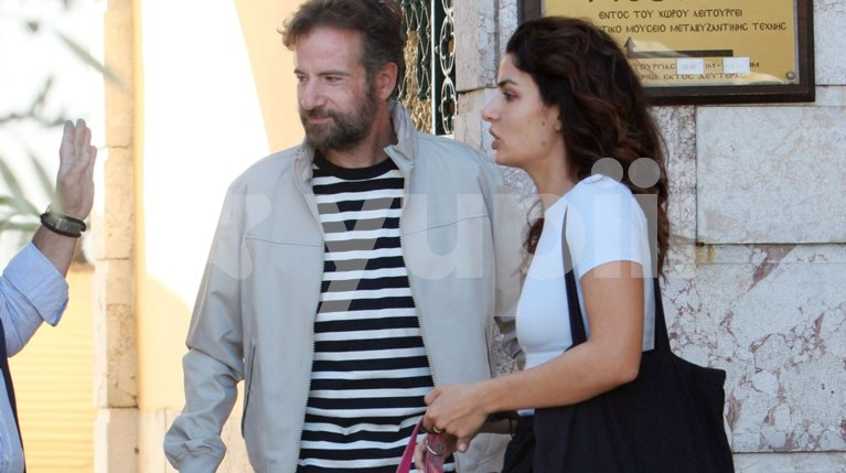 Τόνια Σωτηροπούλου και Κωστής Μαραβέγιας στην πρώτη εμφάνιση μετά το γάμο τους