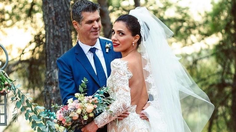 Φωτεινή Δάρρα Γιώργος Παπαχριστούδης γάμος