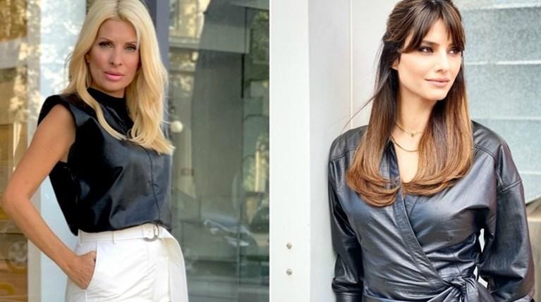Μια αναδρομή σε όλα τα δερμάτινα κομμάτια που φόρεσαν οι Ελληνίδες celebrities μέχρι τώρα
