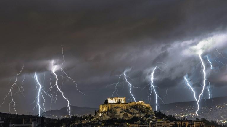 κακοκαιρία Αθήνα