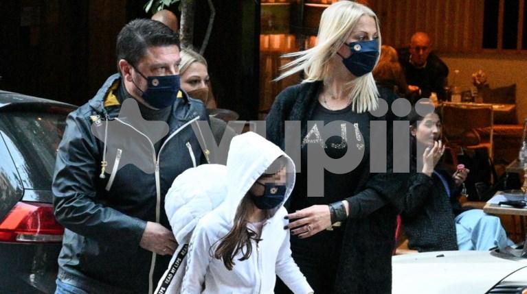 Ο Νίκος Χαρδαλιάς με την οικογένειά του