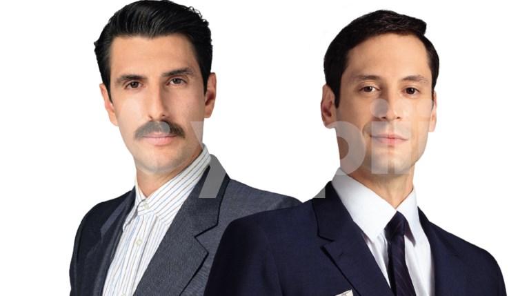 Γιώργος Γεροντιδάκης και Σπύρος Σταμούλης