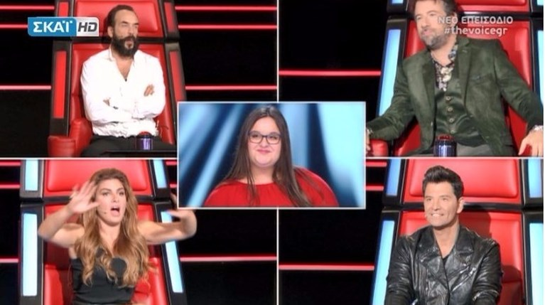 The Voice 4 - Blind Auditions - Αθανασία Παπαναστασοπούλου
