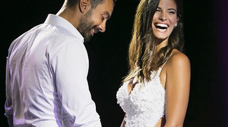 Σάκης Τανιμανίδης & Χριστίνα Μπόμπα - γάμος