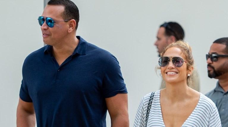 Jennifer Lopez and Alex Rodriguez R