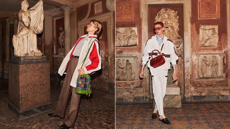 Ο Γιώργος Λάνθιμος φωτογραφίζει τη νέα συλλογή του Gucci