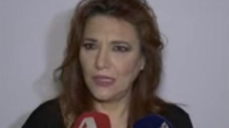 Ελένη Βιτάλη on camera