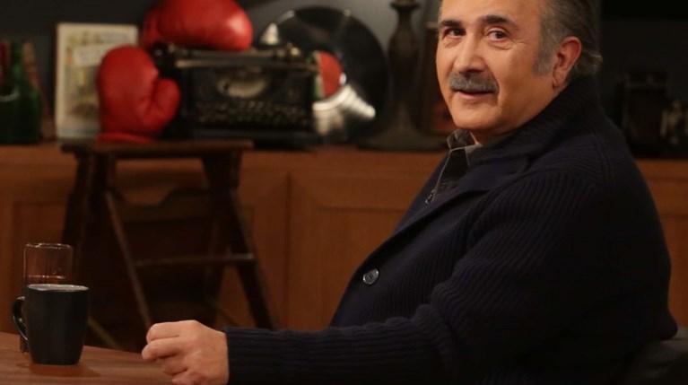 Ο Λάκης Λαζόπουλος στο Late Night με τον Γιώργο Λιάγκα