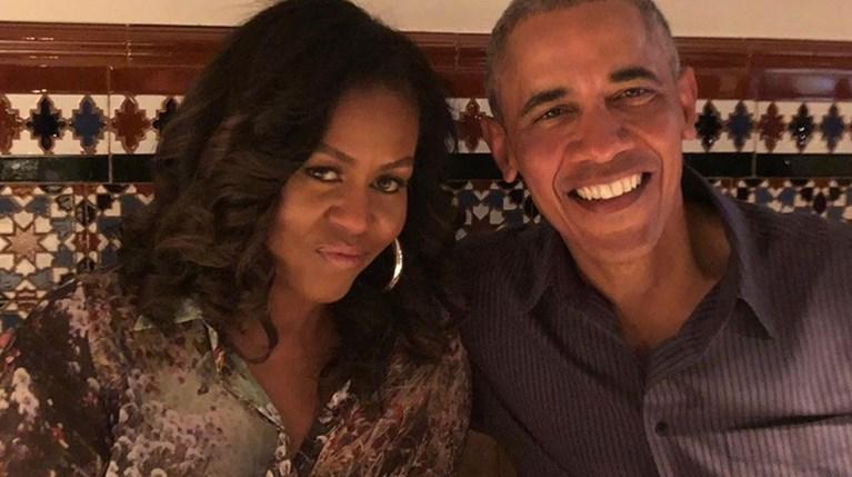 Barack & Michelle Obama - Instagram
