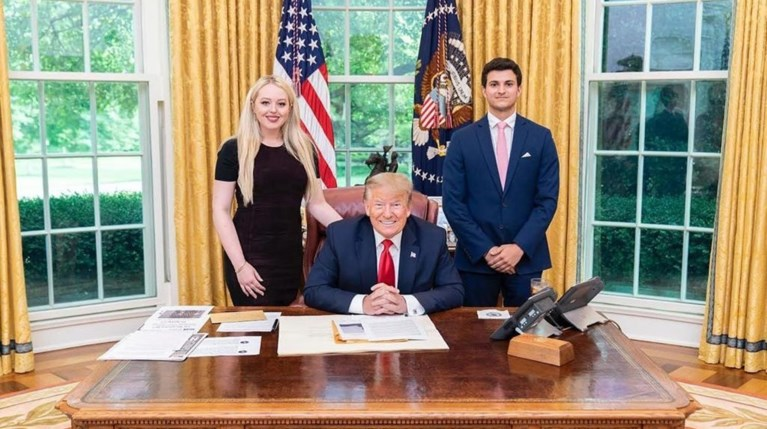 Tiffany Trump & Donald Trump