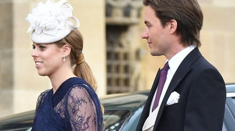 Πριγκίπισσα Βεατρίκη & Edoardo Mapelli Mozzi