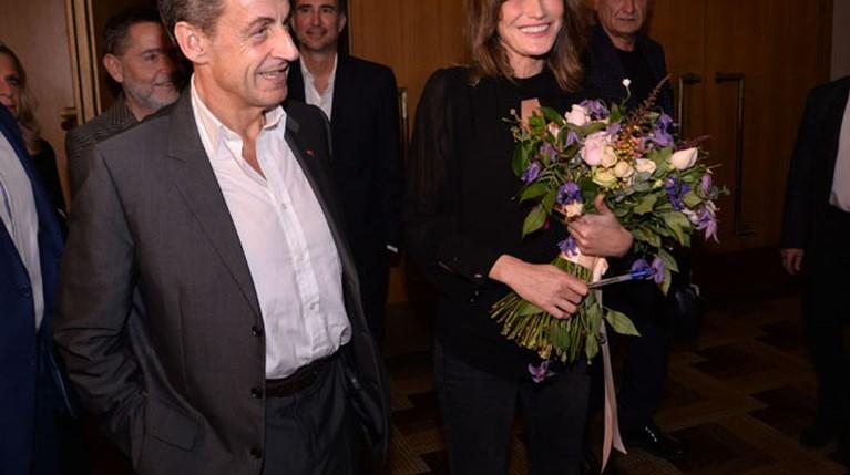 Ο Νικολά Σαρκοζί με την Κάρλα Μπρούνι