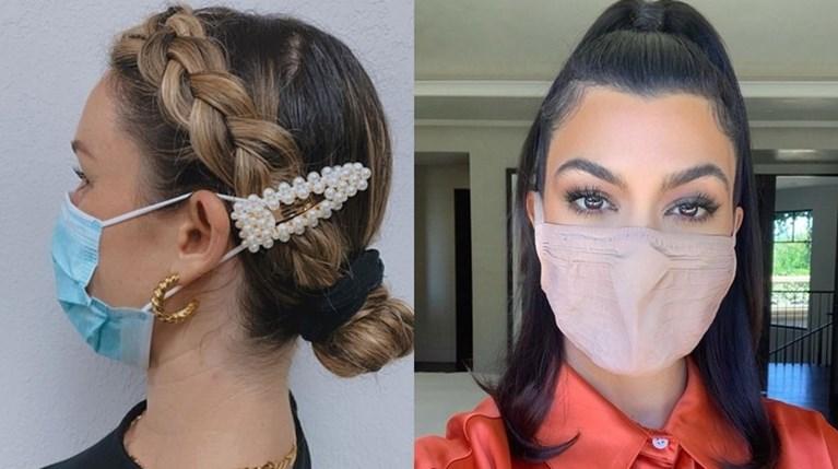 Κομψή με μάσκα