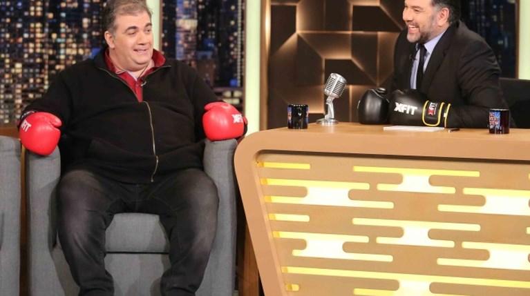 Δημήτρης Σταρόβας στο The 2Night Show
