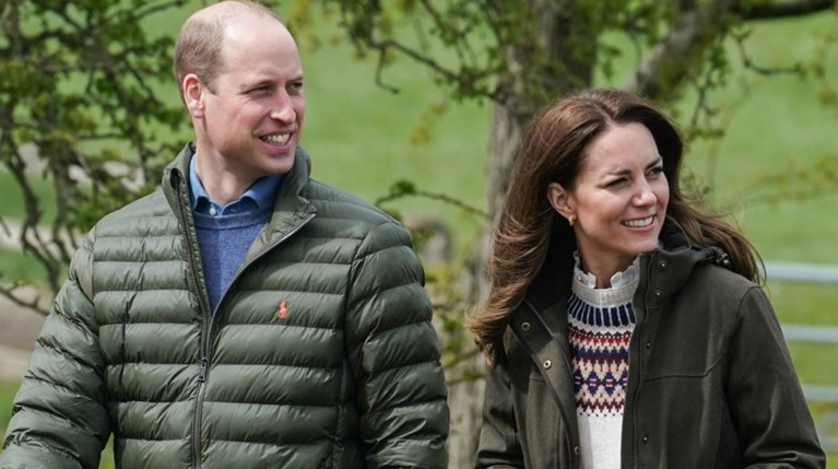 πρίγκιπας William και Kate Middleto