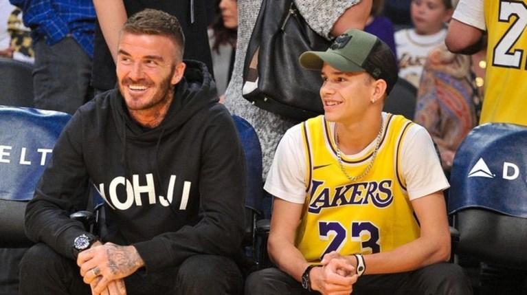 Romeo Beckham - David Beckham