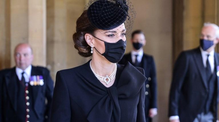 Kate Middleton κηδεία πρίγκιπα Φίλιππου