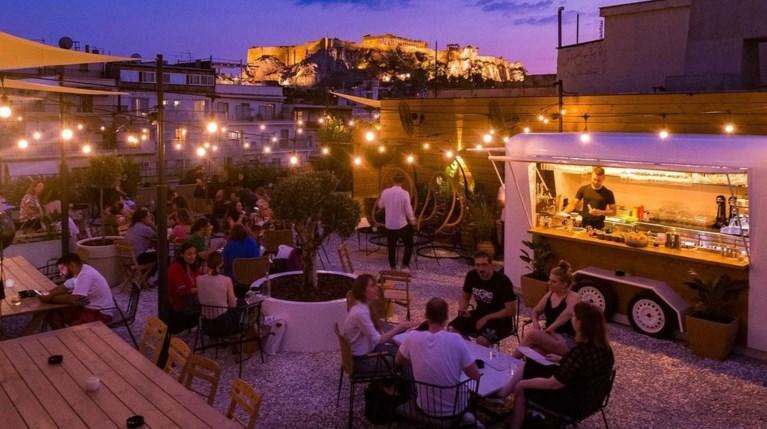 Τέλεια μπαρ σε αθηναϊκές ταράτσες