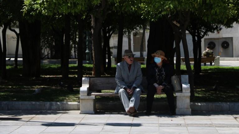 Κορονοϊός Αθήνα ηλικιωμένοι