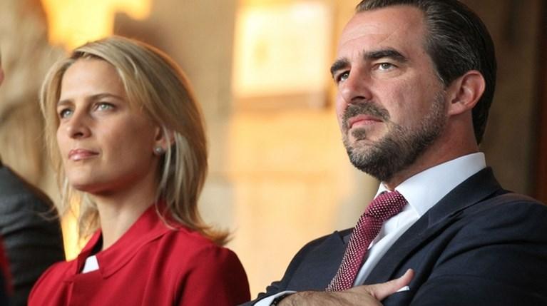 O πρίγκιπας Νικόλαος και η Tatiana Blatnik στο 4ο «Athens Democracy Forum» (1)