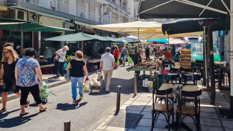 Κορονοϊός λαϊκή αγορά / iStock