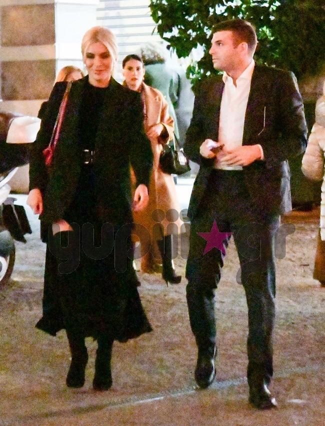 Κατερίνα Καινούργιου  Φίλιππος Τσαγκρίδης  Βραδινή έξοδος για δύο Πού τους εντόπισε ο φακός