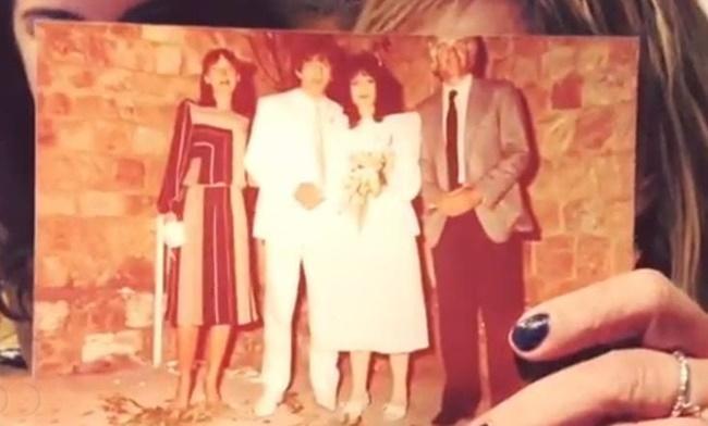Άννα Βίσση - Νίκος Καρβέλας φωτογραφία γάμου