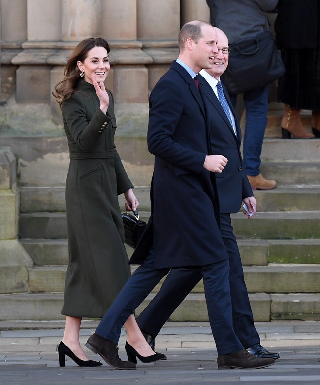 Kate Middleton  Πρίγκιπας WilliamΗ πρώτη εμφάνιση μετά το Megxit