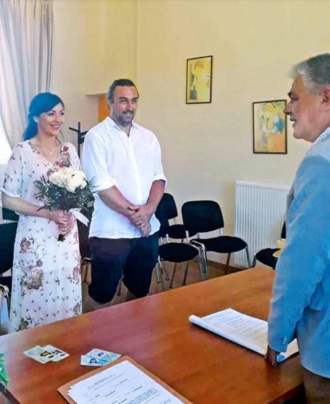 Ιβάν Σβιτάιλο γάμος